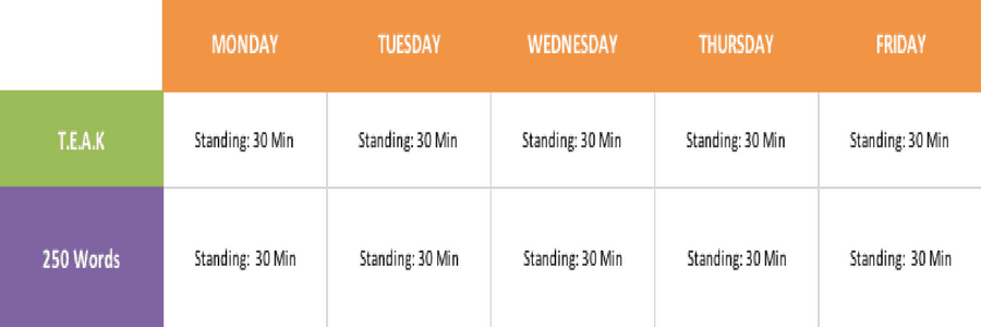 6 Steps Time Management System